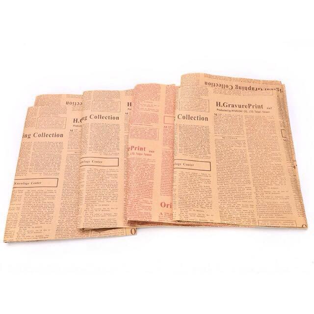 giấy gói cây noen